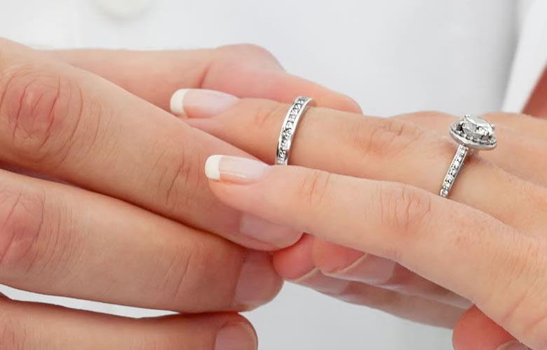 Los anillos, símbolo de la alianza matrimonial