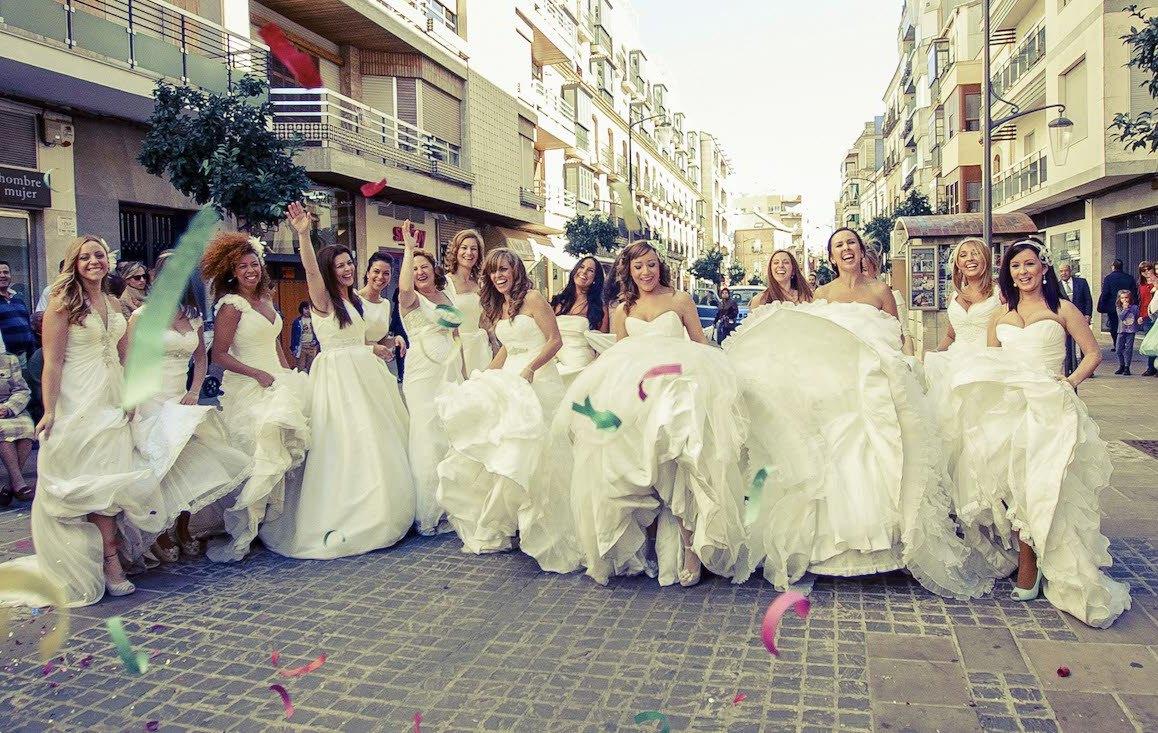 Las tendencias en vestidos de novia para 2015