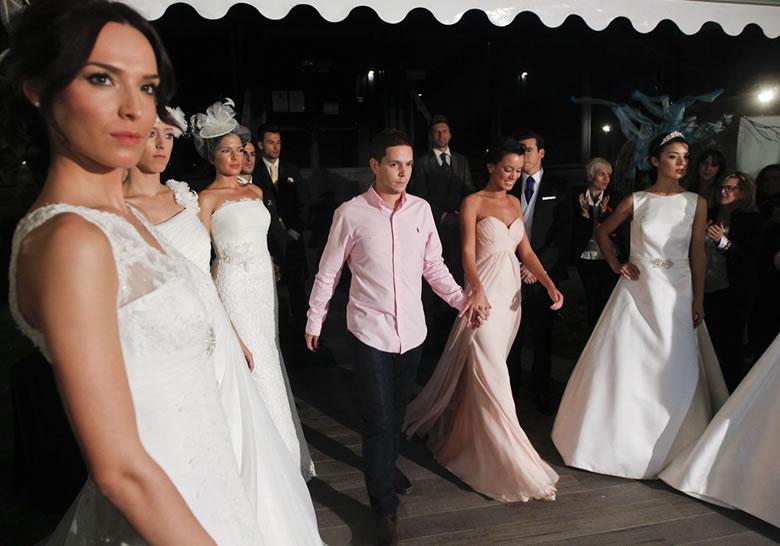 Desfile de trajes de novia 2013