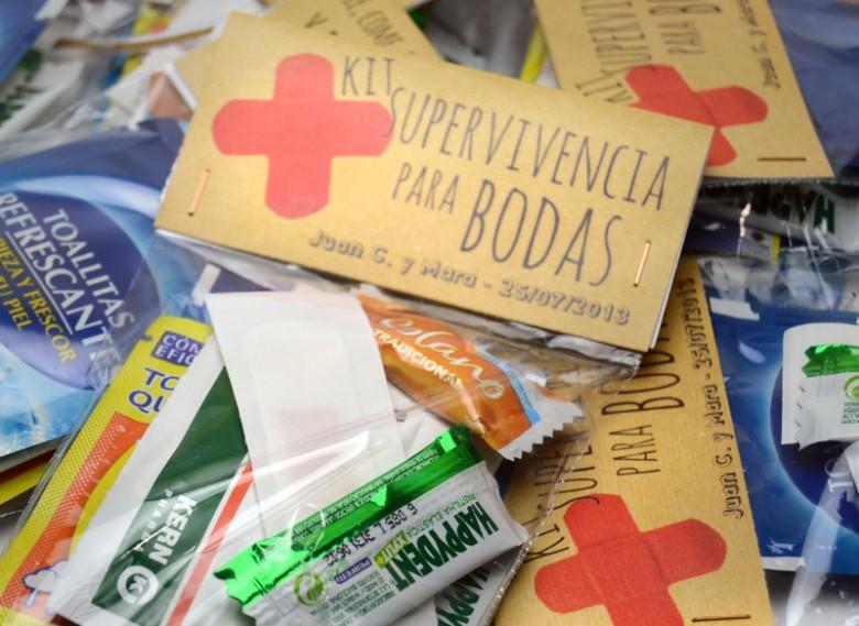 Kit de emergencias para tu boda