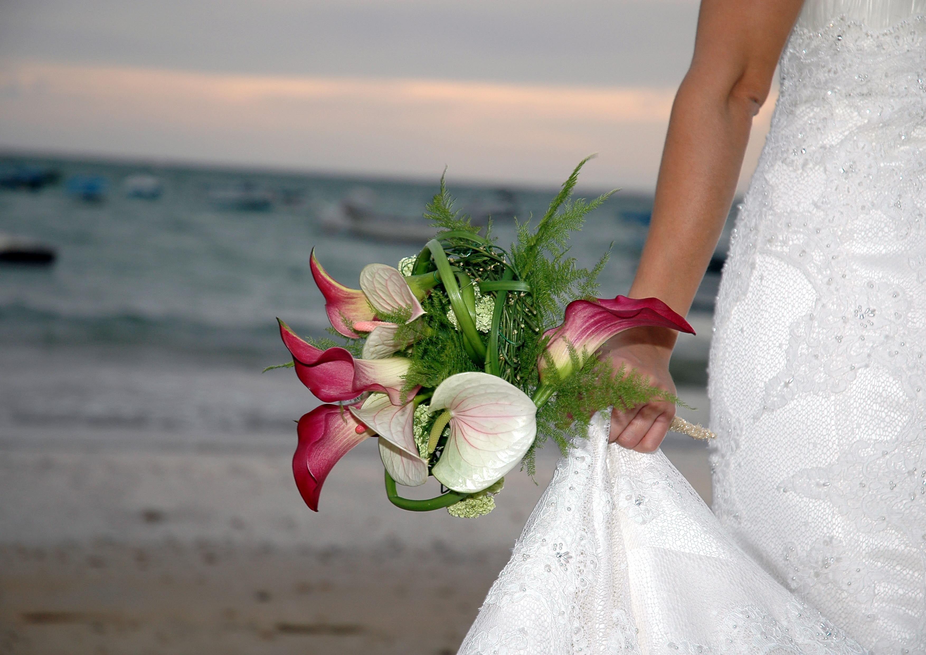 Escoge las mejores flores para tu ramo de novia