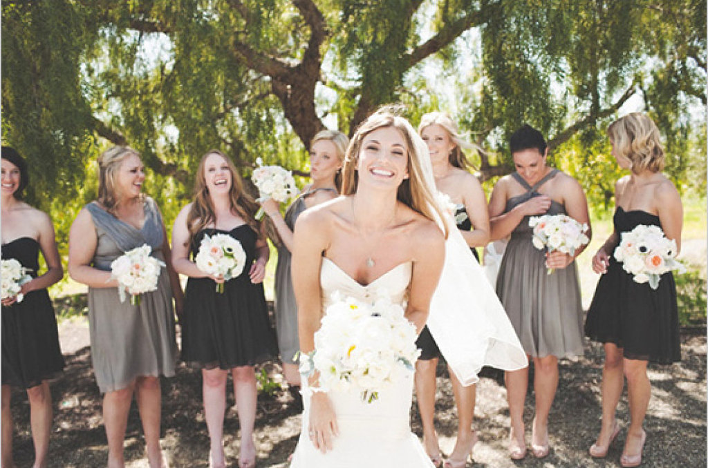Las damas de honor de tu boda