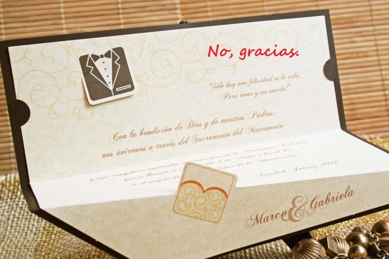 ¿Qué excusas pondrías para no asistir a una boda?