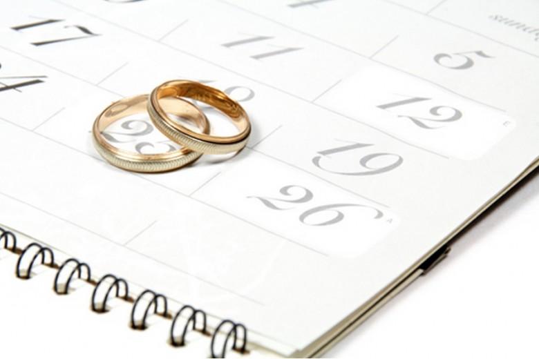 Cómo elegir la fecha de tu boda