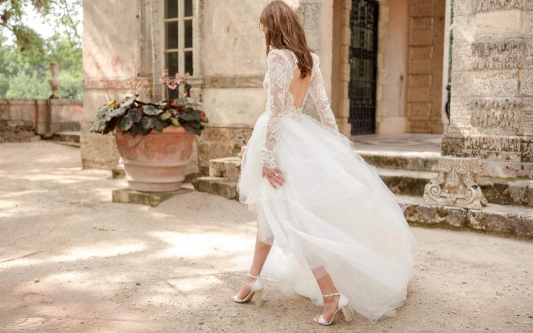 Seis tipos de zapato para seis tipos de novia