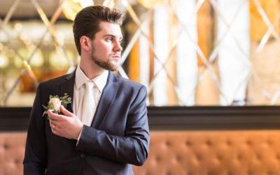 ¿Cómo elegir el color del traje de novio?
